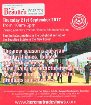 Beaulieu Show September 2017