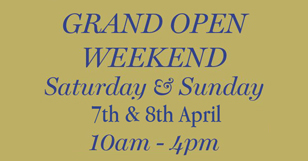 Grand Open Weekend 7th & 8th April 2018